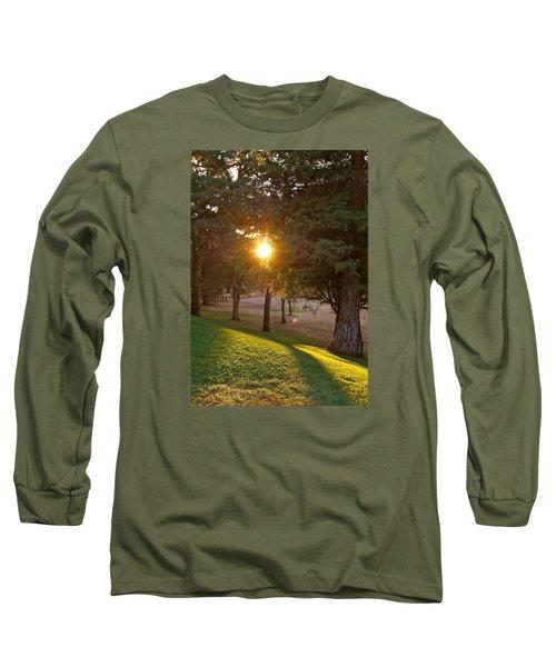 Sunset Retreat Long Sleeve T-Shirt by Michele Myers