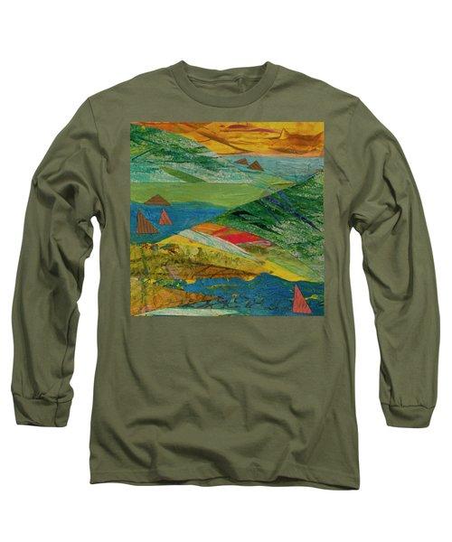 Sunset Sails 3 Long Sleeve T-Shirt