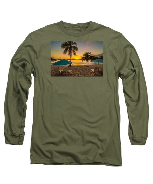 Sunset Secret Harbor Long Sleeve T-Shirt