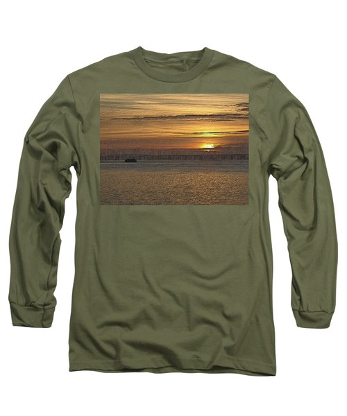 Sunset Serenade Long Sleeve T-Shirt by Tim Allen