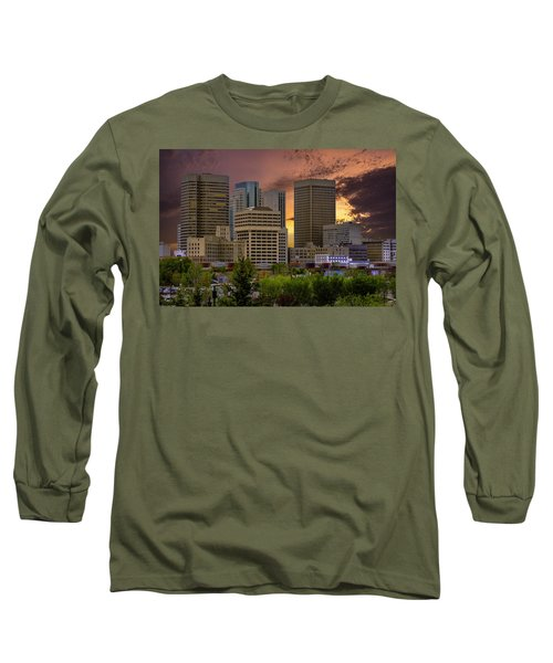 Sunset Skyline Long Sleeve T-Shirt