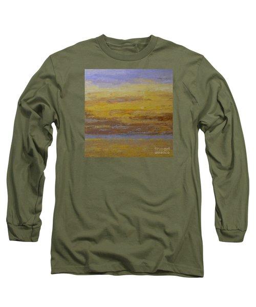 Sunset Storm Clouds Long Sleeve T-Shirt by Gail Kent