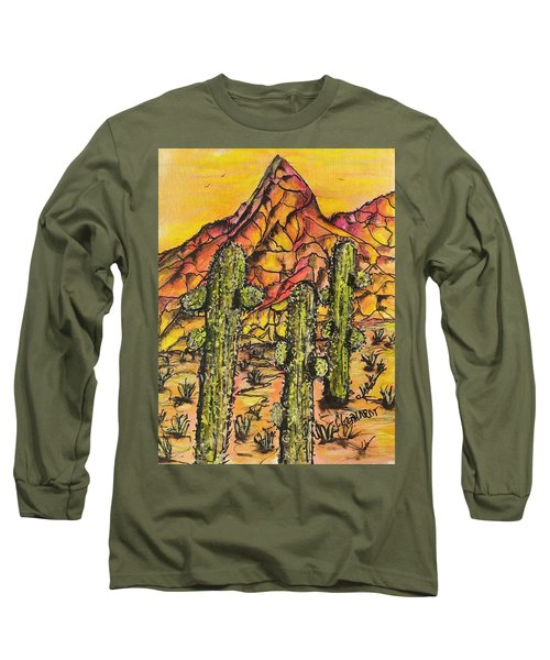 Desert Sunset Sunrise  Long Sleeve T-Shirt