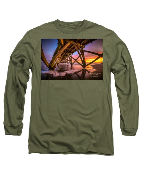 Sunset Under The Pier Long Sleeve T-Shirt