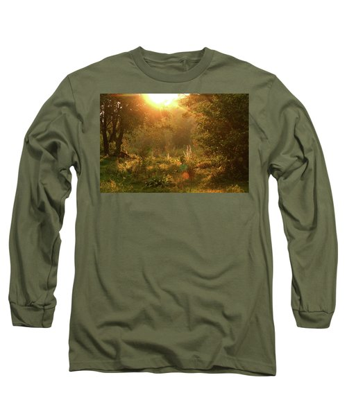 Long Sleeve T-Shirt featuring the photograph Sunshine In The Meadow by Emanuel Tanjala