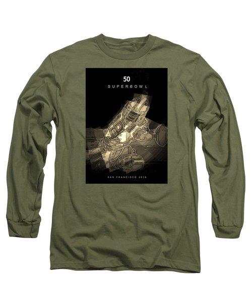 Super Bowl Poster Long Sleeve T-Shirt