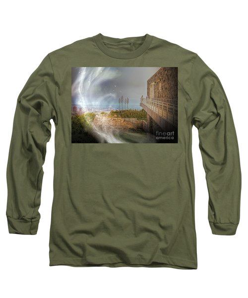 Super Natural Aliens Are Coming Getty Museum  Long Sleeve T-Shirt