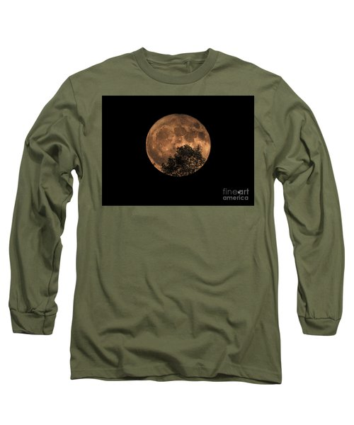 Supermoon Rising Long Sleeve T-Shirt