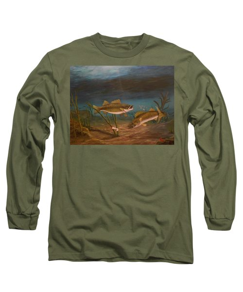 Supper Time Long Sleeve T-Shirt by Sheri Keith