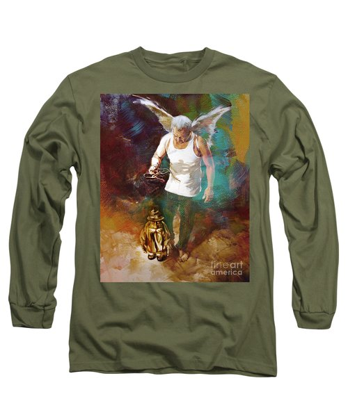 Long Sleeve T-Shirt featuring the painting Surreal Art  by Gull G