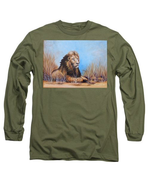 Surveying The Grounds Long Sleeve T-Shirt