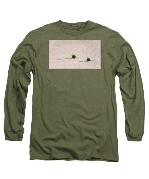 Survival Of Nature Long Sleeve T-Shirt by Monte Stevens