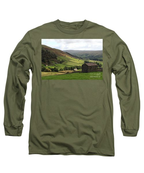 Swaledale  Yorkshire Dales Long Sleeve T-Shirt