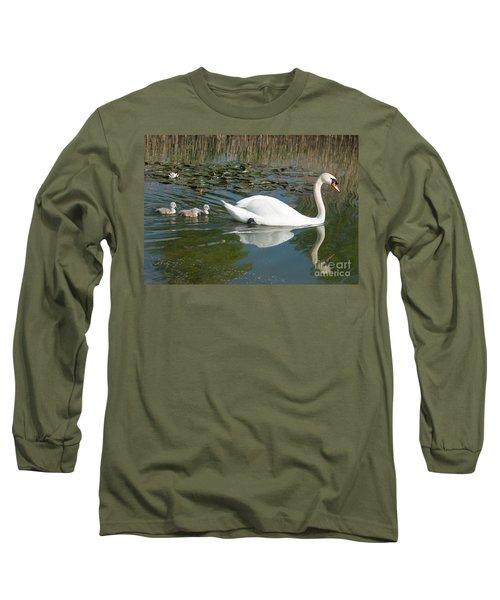 Swan Scenic Long Sleeve T-Shirt