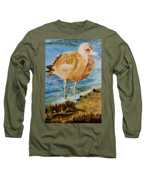 Sweet Gull Chick Long Sleeve T-Shirt