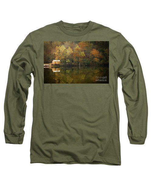 Long Sleeve T-Shirt featuring the photograph Sweet Home by Iris Greenwell