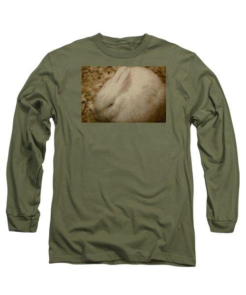 Sweet Marshmallow Long Sleeve T-Shirt by The Art Of Marilyn Ridoutt-Greene