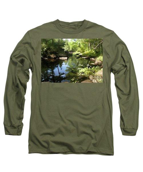 Swimmin' Hole Long Sleeve T-Shirt