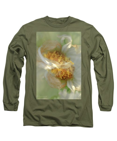 Flower Swirl.... Long Sleeve T-Shirt