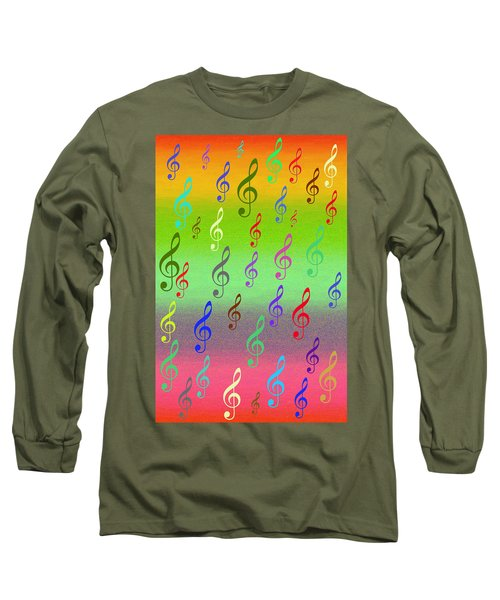 Symphony Of Colors Long Sleeve T-Shirt