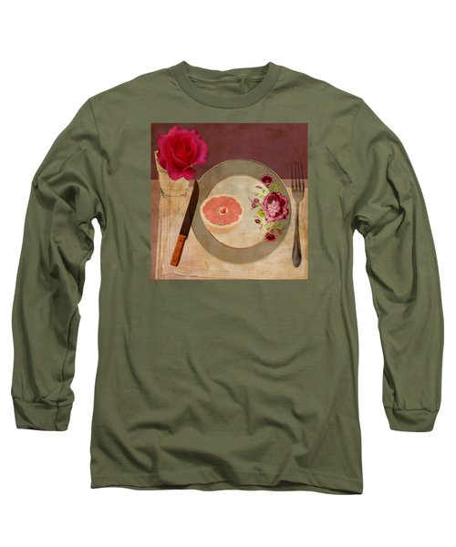 Tablescape Long Sleeve T-Shirt by Lisa Noneman