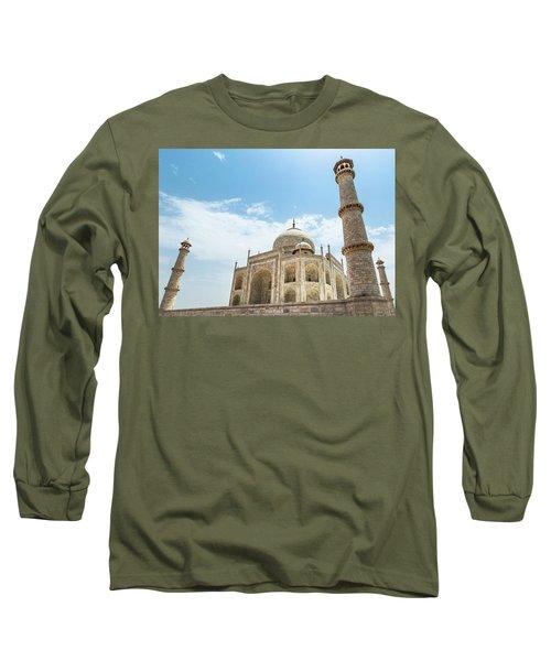 Long Sleeve T-Shirt featuring the photograph Taj Mahal by Chris Cousins