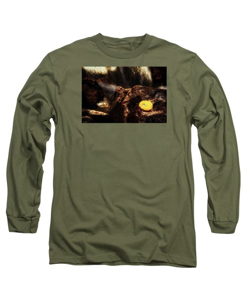 Take A Deep Breath Long Sleeve T-Shirt by Rick Furmanek