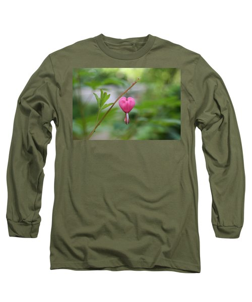 Long Sleeve T-Shirt featuring the digital art Take My Heart by Barbara S Nickerson