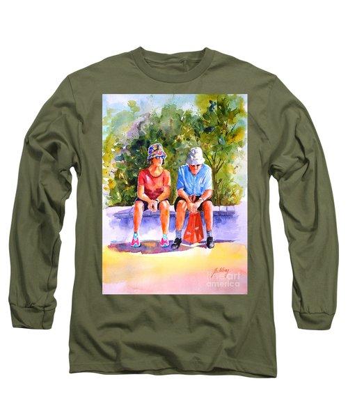 Taking A Rest - 2 Long Sleeve T-Shirt
