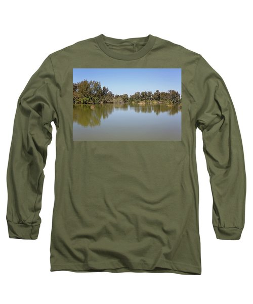 Long Sleeve T-Shirt featuring the photograph Taking A Walk by Kim Hojnacki