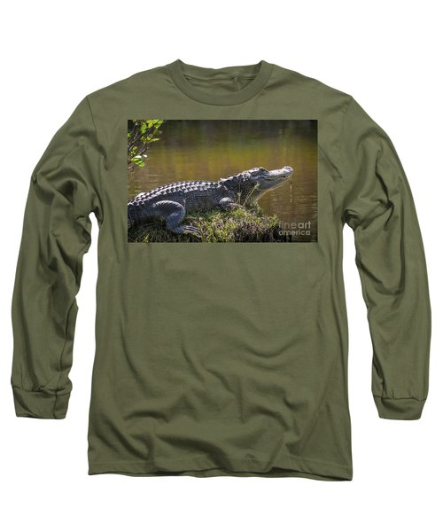 Taking In The Sun Long Sleeve T-Shirt