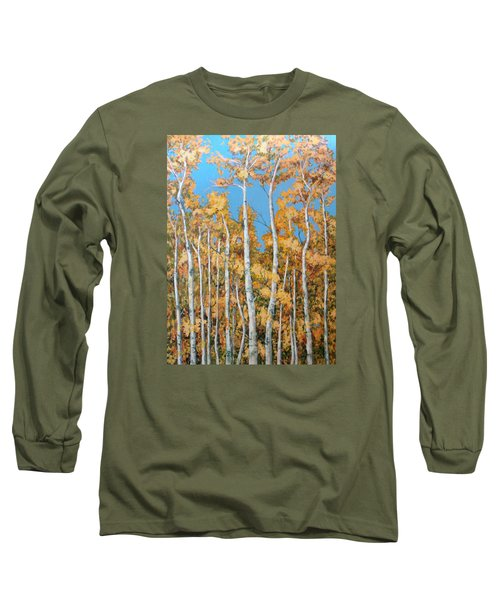 Tall Poplars Long Sleeve T-Shirt