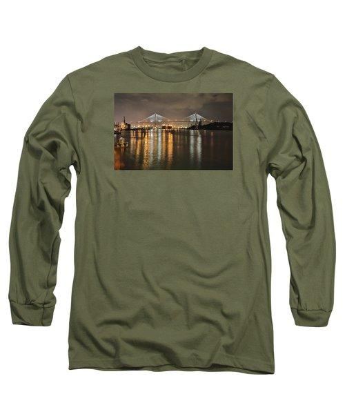 Talmadge Memorial Bridge Long Sleeve T-Shirt