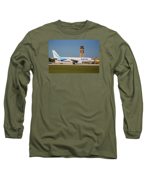 Tame Airline Long Sleeve T-Shirt