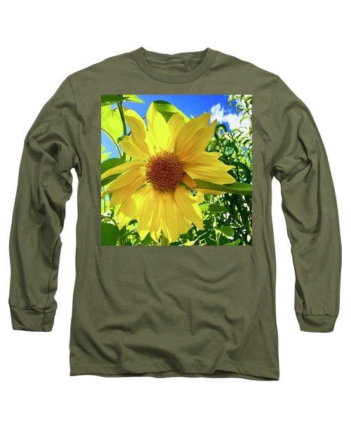 Tangled Sunflower Long Sleeve T-Shirt