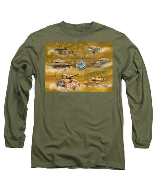 Tanks Four Long Sleeve T-Shirt