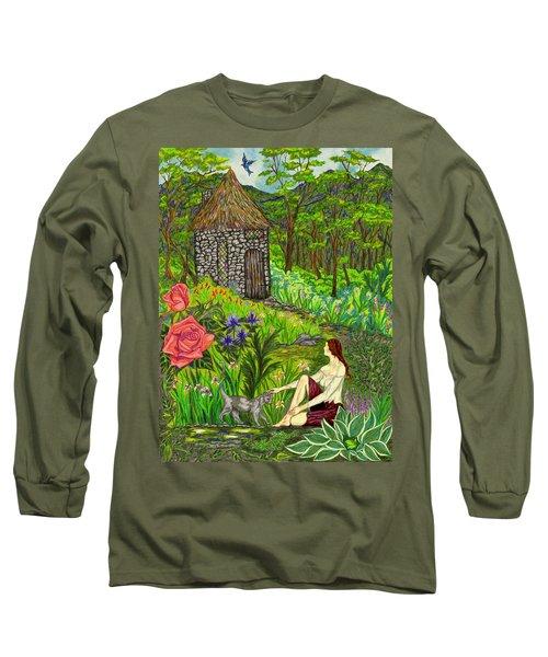 Tansel's Garden Long Sleeve T-Shirt