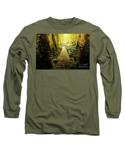 Tarkine Tasmania Trails Long Sleeve T-Shirt