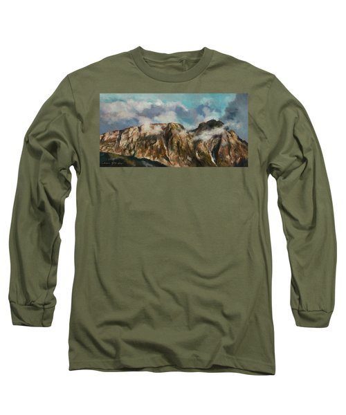 Tatry Mountains- Giewont Long Sleeve T-Shirt