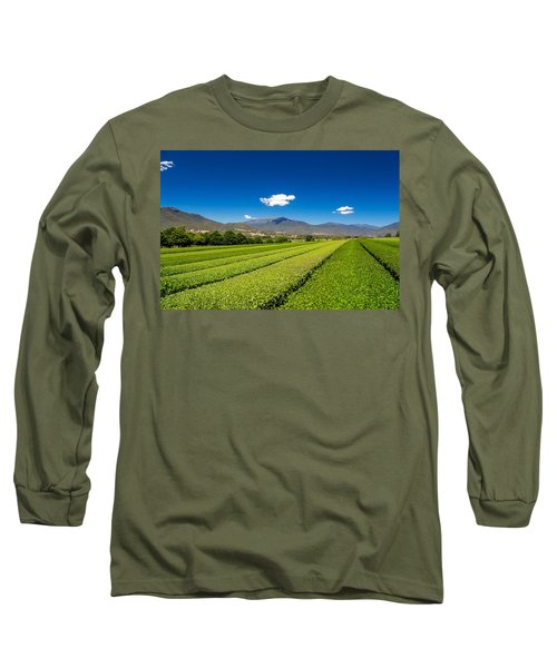 Tea In The Valley Long Sleeve T-Shirt