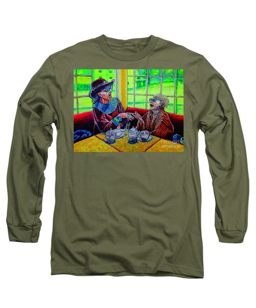 Tea Party Long Sleeve T-Shirt by Viktor Lazarev