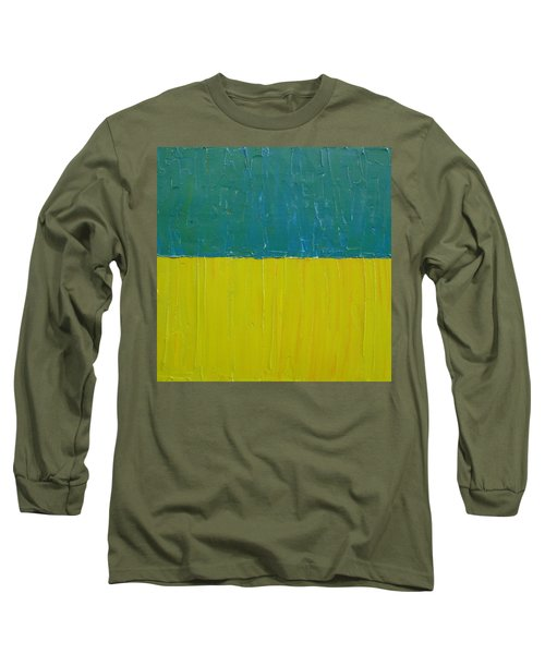 Teal Olive Long Sleeve T-Shirt