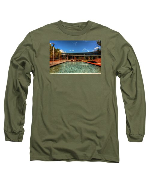 Technology Center Of Excellence Long Sleeve T-Shirt by Ester  Rogers