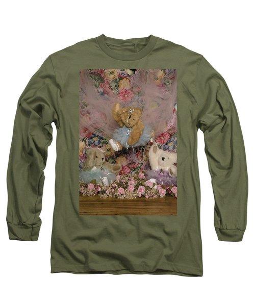 Teddy Bear Dancers Long Sleeve T-Shirt
