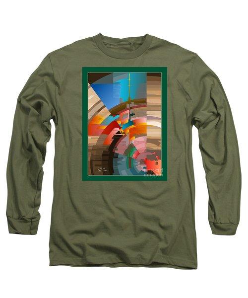 Telecast Long Sleeve T-Shirt by Leo Symon