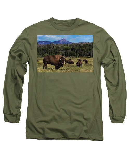 Tending The Herd Long Sleeve T-Shirt