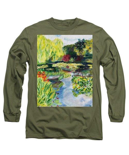Tending The Pond Long Sleeve T-Shirt