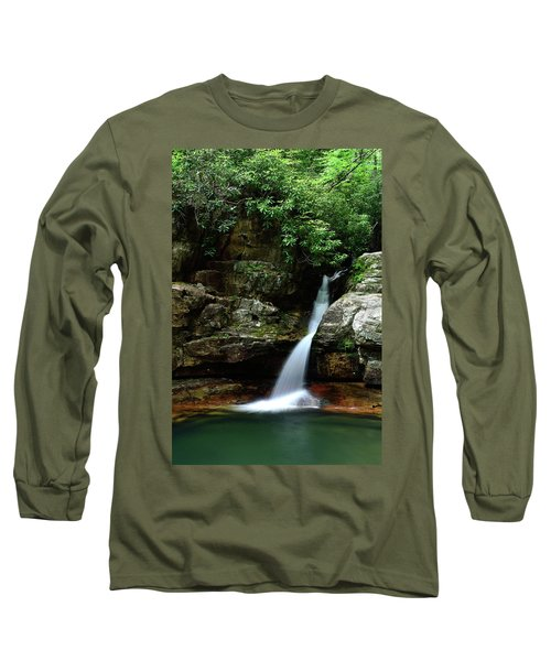 Tennessee's Blue Hole Falls Long Sleeve T-Shirt