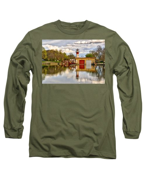 Tenney Lock - Madison - Wisconsin Long Sleeve T-Shirt