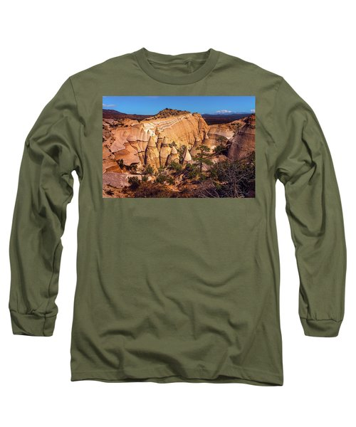 Tent Rocks From Above Long Sleeve T-Shirt